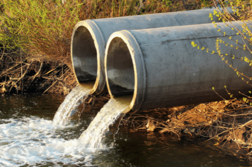 Removing contaminated water